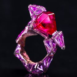 Wallace Chan Ring Ruby Castle