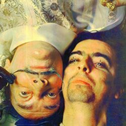 Dali and Alice Cooper